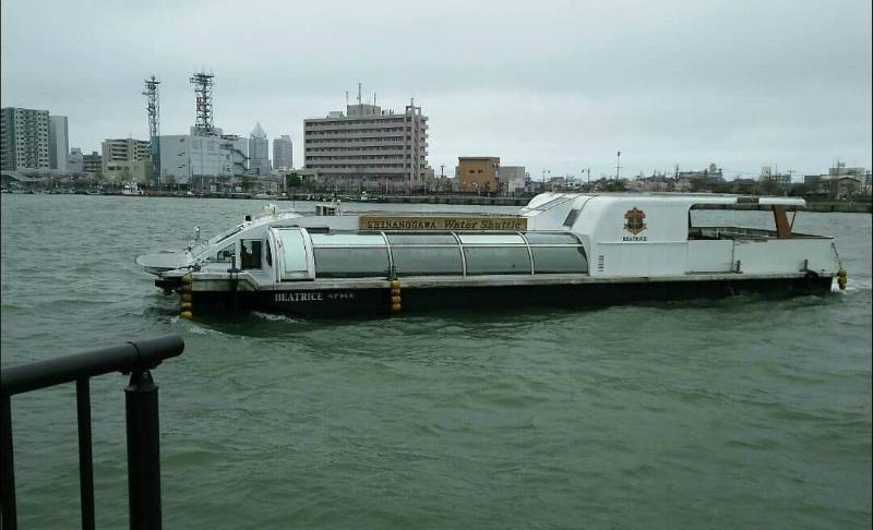 水上バス乗車体験